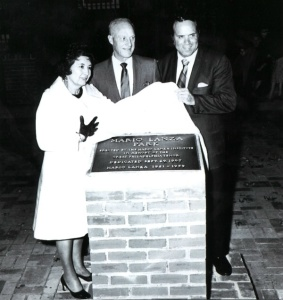 Dedication of Mario Lanza Park, Philadelphia