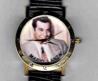 Mario Lanza watch (face)