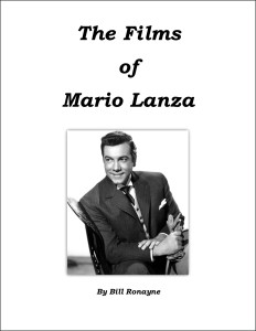 The Films of Mario Lanza