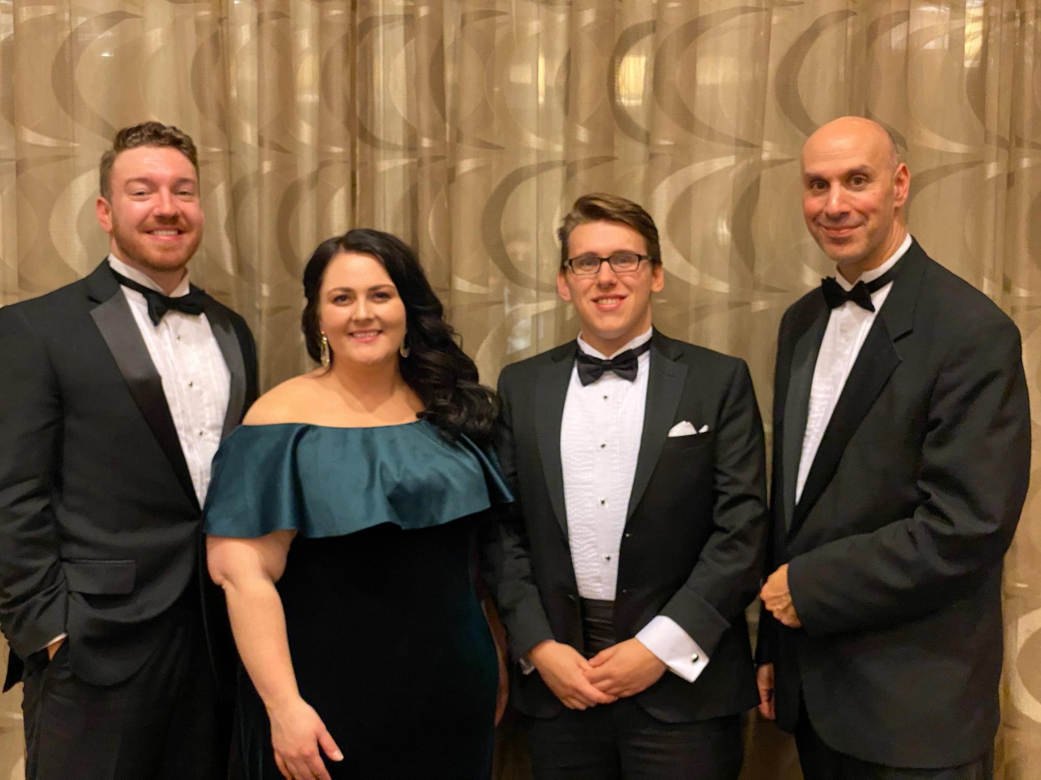 2019 MLI Scholarship winners and Luke